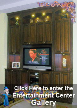 Entertainment Centers, Wall Units